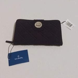 Vera Bradley Blue Fabric Wallet